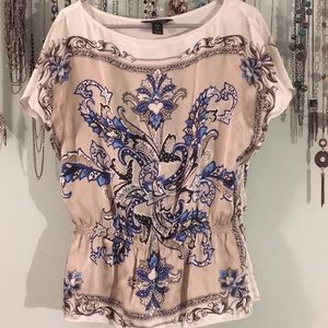 White house black market medium beautiful blouse.